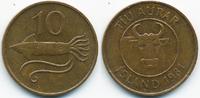 10 Aurar 1981 Island - Iceland Republik vorzüglich/prägefrisch  0,50 EUR  zzgl. 1,20 EUR Versand