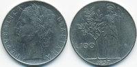 100 Lire 1957 R Italien - Italy Republik seit 1946 sehr schön  1,00 EUR  +  2,00 EUR shipping