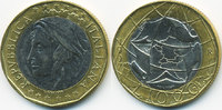 1000 Lire 1997 R Italien - Italy Republik seit 1946 – Europakarte richt... 2,50 EUR  +  2,00 EUR shipping