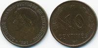 10 Centimes 1930 Luxemburg - Luxembourg Charlotte 1919-1964 sehr schön+... 2,50 EUR  zzgl. 1,20 EUR Versand
