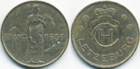 1 Franc 1939 Luxemburg - Luxembourg Charlotte 1919-1964 sehr schön+ - k... 3,50 EUR  +  2,00 EUR shipping