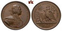 Bronzemedaille 1717, RUSSLAND Peter I., der Große, 1682-1725.   475,00 EUR