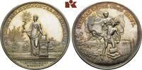 Satirische Silbermedaille 1764, NIEDERLANDE  Herrliche Patina, fast Ste... 1075,00 EUR
