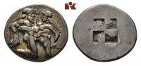 AR-Stater, 550/463 v. Chr.; THRACIA THASOS. Attraktives, sehr schönes E... 1285,00 EUR