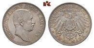 2 Mark 1906. Sachsen Friedrich August III., 1904-1918. Herrliche Patina... 195,00 EUR