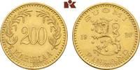200 Markkaa 1926. FINNLAND 2. Republik seit 1917. Vorzüglich +  2795,00 EUR envoi gratuit