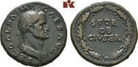 Æ-Sesterz, 68, Rom; MÜNZEN DER RÖMISCHEN KAISERZEIT Galba, 68-69. Braun... 1900,00 EUR  + 9,90 EUR frais d'envoi