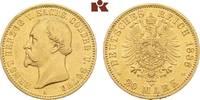20 Mark 1886. Sachsen-Coburg-Gotha Ernst II., 1844-1893. Vorzüglich  / ... 5875,00 EUR