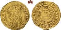 Goldgulden 1588, HAMBURG  Unregelmäßiger Rand, Schrötlingsriß, sehr sch... 745,00 EUR