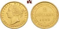 2 Dollars 1882. KANADA Victoria, 1837-1901. Vorzüglich  475,00 EUR  + 9,90 EUR frais d'envoi