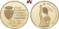 25 Diners 1994. ANDORRA Unter Frankreich. Polierte Platte  211.66 US$ 185,00 EUR  +  17.05 US$ shipping