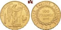 100 Francs 1900 A, Paris. FRANKREICH 3. Republik, 1870-1940. Fast vorzü... 1420.95 US$ 1275,00 EUR  +  16.61 US$ shipping