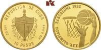 10 Pesos 1992. KUBA Republik seit 1902. Polierte Platte  135,00 EUR  zzgl. 5,90 EUR Versand