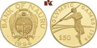 50 Dollars 1994. NAURU ISLANDS Republik. Polierte Platte  190,00 EUR  zzgl. 5,90 EUR Versand