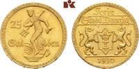 25 Gulden 1930. Danzig  Vorzüglich-Stempelglanz  2300,00 EUR kostenloser Versand