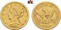 2 1/2 Dollars 1851, Philadelphia. VEREINIGTE STAATEN VON AMERIKA / USA ... 314.62 US$ 275,00 EUR  +  17.05 US$ shipping
