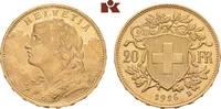 20 Franken 1926 B, Bern. SCHWEIZ  Stempelglanz  415,00 EUR  zzgl. 5,90 EUR Versand