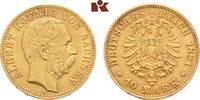10 Mark 1881. Sachsen Albert, 1873-1902. Fast vorzüglich  /  vorzüglich  600.65 US$ 525,00 EUR  +  17.05 US$ shipping