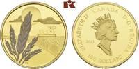 100 Dollars 2003. KANADA Elizabeth II seit 1952. Polierte Platte  315,00 EUR  + 9,90 EUR frais d'envoi