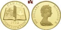 100 Dollars 1982. KANADA Elizabeth II seit 1952. Polierte Platte  625,00 EUR  + 9,90 EUR frais d'envoi