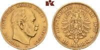 10 Mark 1877 C. Preussen Wilhelm I., 1861-1888. Fast vorzüglich  225,00 EUR  + 9,90 EUR frais d'envoi