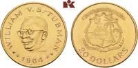 20 Dollars 1964. LIBERIA Republik. Vorzüglich  695,00 EUR  + 9,90 EUR frais d'envoi