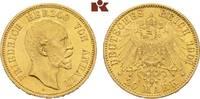 20 Mark 1901. Anhalt Friedrich I., 1871-1904. Vorzüglich-Stempelglanz  3775,00 EUR envoi gratuit