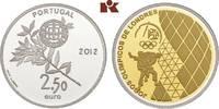 2 1/2 Euro 2012. PORTUGAL 2. Republik seit 1974. Polierte Platte  195,00 EUR  zzgl. 5,90 EUR Versand