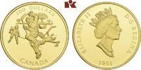 200 Dollars 1991. KANADA Elizabeth II seit 1952. Prachtexemplar von pol... 725,00 EUR  + 9,90 EUR frais d'envoi