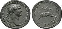 Æ-Sesterz, 104/107, Rom; MÜNZEN DER RÖMISCHEN KAISERZEIT Traianus, 98-1... 1465,00 EUR kostenloser Versand