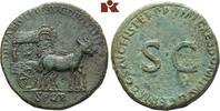 Æ-Sesterz, 90/91, Rom; MÜNZEN DER RÖMISCHEN KAISERZEIT Domitianus, 81-9... 2245,00 EUR kostenloser Versand