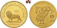 50 Francs 1965. KONGO Republik Kongo (Zaire), 1960-1971. Prachtexemplar... 345,00 EUR  zzgl. 5,90 EUR Versand