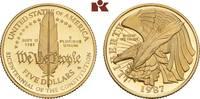 5 Dollars 1987 W, West Point. VEREINIGTE STAATEN VON AMERIKA / USA Föde... 315,00 EUR  zzgl. 5,90 EUR Versand