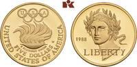 5 Dollars 1988 W, West Point. VEREINIGTE STAATEN VON AMERIKA / USA Föde... 315,00 EUR  zzgl. 5,90 EUR Versand