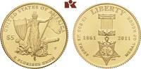 5 Dollars 2011 P, Philadelphia. VEREINIGTE STAATEN VON AMERIKA / USA Fö... 375,00 EUR  zzgl. 5,90 EUR Versand