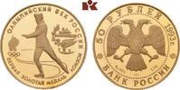 50 Rubel 1993, St. Petersburg. RUSSLAND Republik seit 1992. Polierte Pl... 345,00 EUR  + 9,90 EUR frais d'envoi