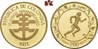 200 Pesos 1971. KOLUMBIEN Republik ab 1886. Prachtexemplar von polierte... 355,00 EUR  + 9,90 EUR frais d'envoi