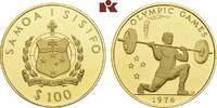 100 Tala 1976. WEST-SAMOA  Prachtexemplar von polierten Stempeln, fast ... 645,00 EUR  + 9,90 EUR frais d'envoi