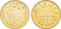 20 Euro 2005. FINNLAND 2. Republik seit 1917. Polierte Platte  85,00 EUR  + 9,90 EUR frais d'envoi