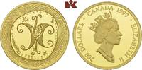 200 Dollars 1999. KANADA Elizabeth II seit 1952. Polierte Platte  745,00 EUR  + 9,90 EUR frais d'envoi