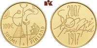 100 Euro 2007. FINNLAND 2. Republik seit 1917. Polierte Platte  375,00 EUR  + 9,90 EUR frais d'envoi