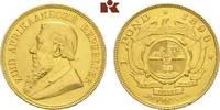 Pound (Krügerpond) 1898. SÜDAFRIKA Südafrikanische Republik. Fast vorzü... 695,00 EUR  + 9,90 EUR frais d'envoi
