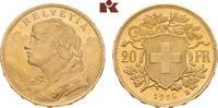 20 Franken 1926 B, Bern. SCHWEIZ  Stempelglanz  415,00 EUR  + 9,90 EUR frais d'envoi