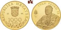 1.000 Kuna 1994. KROATIEN  Polierte Platte  315,00 EUR  + 9,90 EUR frais d'envoi