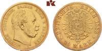 10 Mark 1883 A. Preussen Wilhelm I., 1861-1888. Fast sehr schön  /  vor... 2475,00 EUR  + 9,90 EUR frais d'envoi