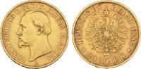 20 Mark 1886. Sachsen-Coburg-Gotha Ernst II., 1844-1893. Sehr schön +  3675,00 EUR envoi gratuit