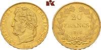 20 Francs 1846 A, Paris. FRANKREICH Louis Philippe, 1830-1848. Fast vor... 475,00 EUR  + 9,90 EUR frais d'envoi