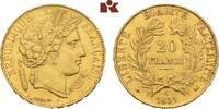 20 Francs 1851, A, Paris. FRANKREICH 2. Republik, 1848-1852. Vorzüglich... 345,00 EUR  + 9,90 EUR frais d'envoi