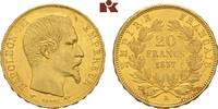 20 Francs 1857 A, Paris. FRANKREICH Napoléon III, 1852-1870. Vorzüglich... 345,00 EUR  + 9,90 EUR frais d'envoi