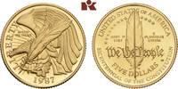 5 Dollars 1987 W, West Point. VEREINIGTE STAATEN VON AMERIKA / USA Föde... 345,00 EUR  + 9,90 EUR frais d'envoi